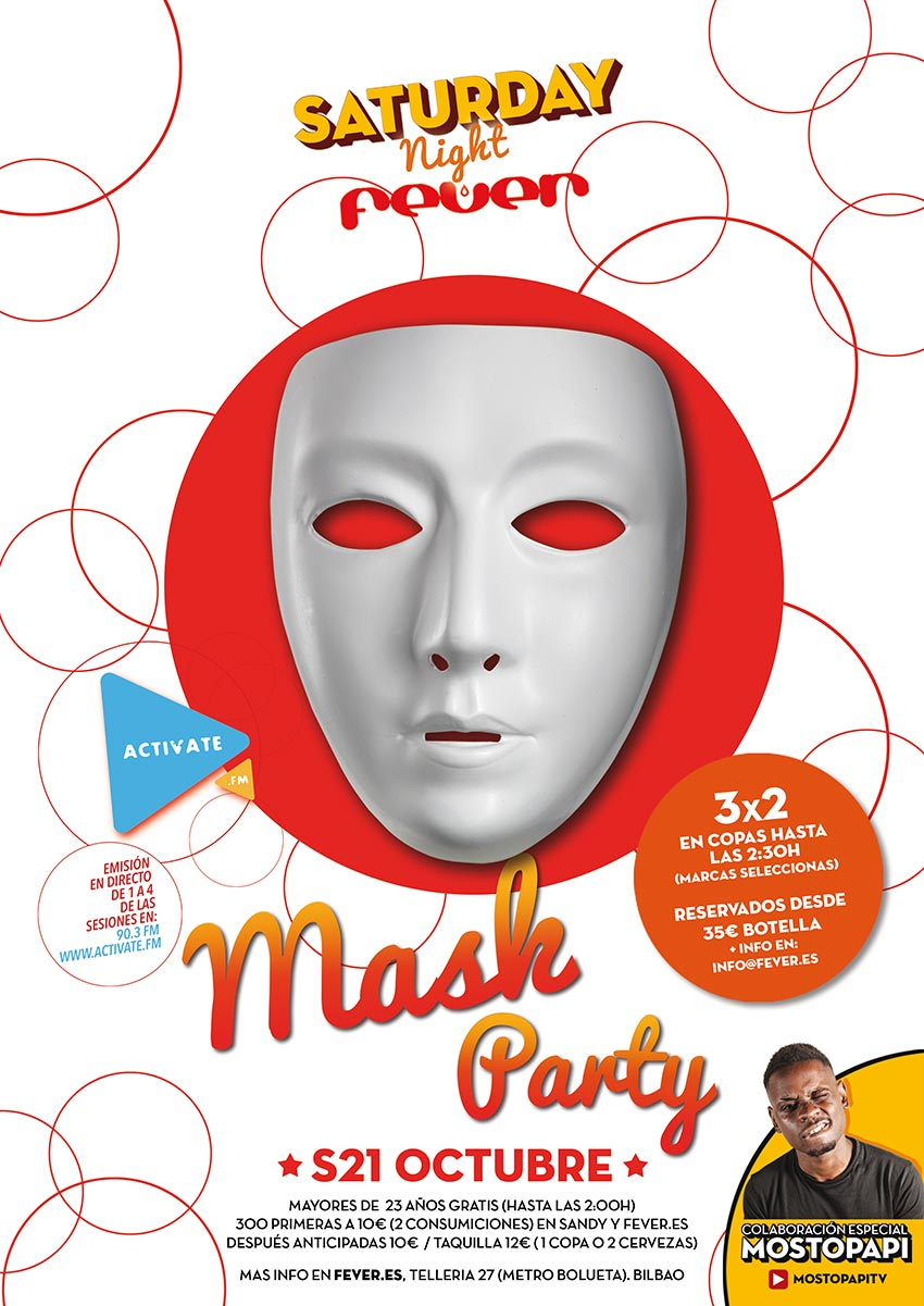 S21 mask party